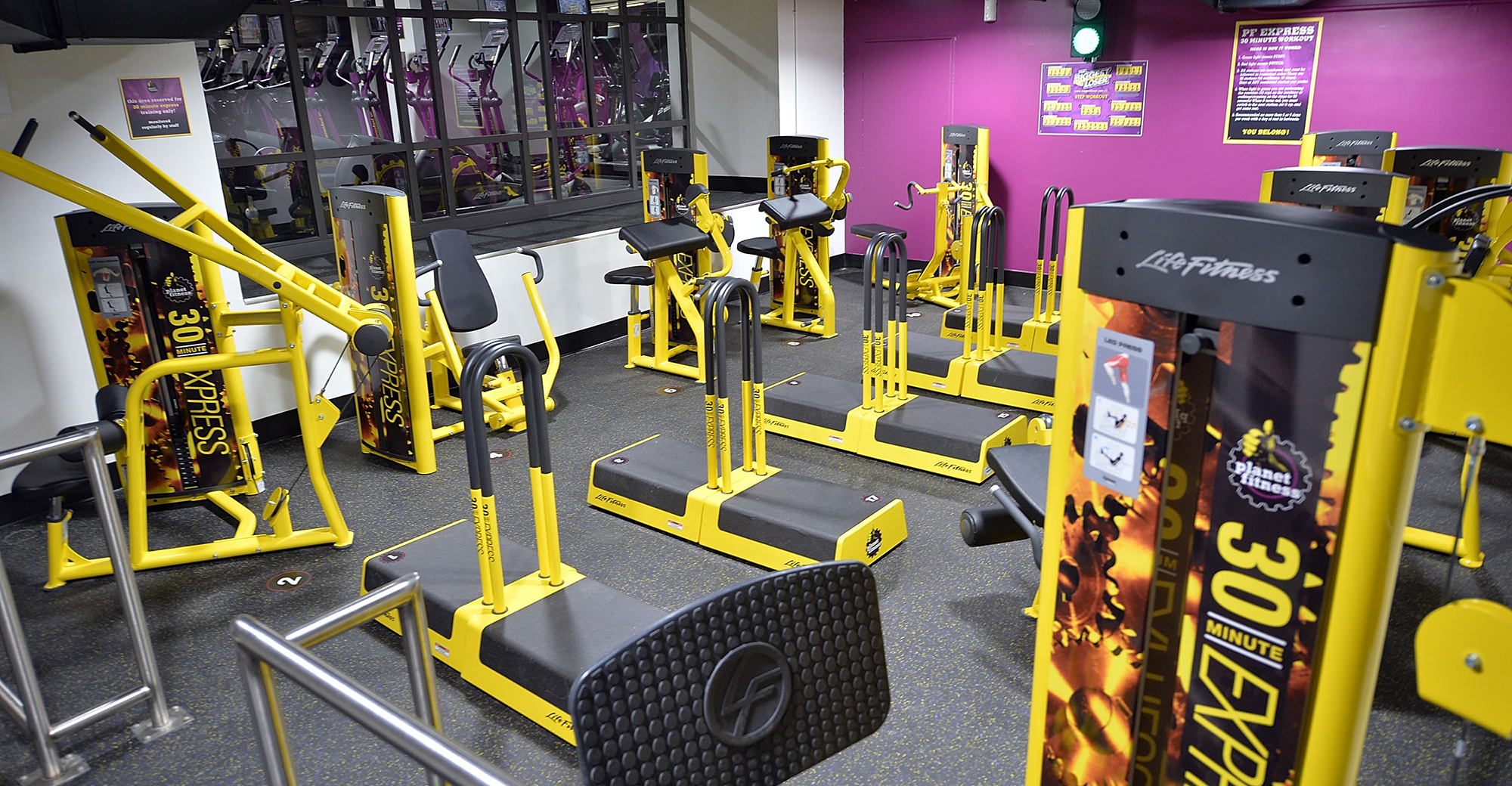 Gyms are expanding at malls and lifestyle centers