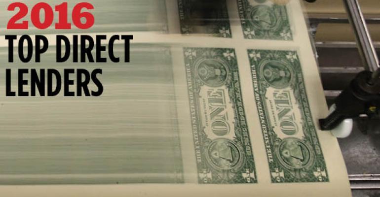 2016 Top Direct Lenders