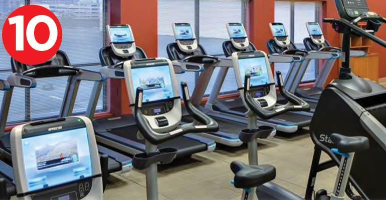 Hilton New Orleans gym