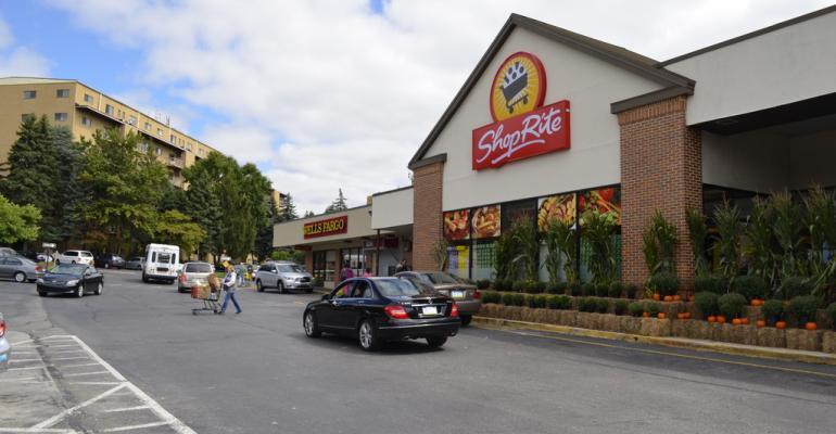 Neighborhood shopping center