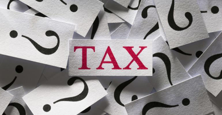 Bellwether Tax confusion