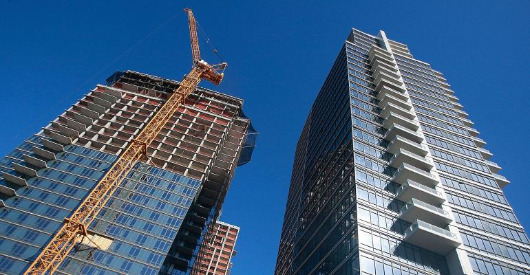 New York apartment building construction