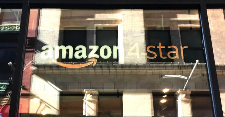 Amazon Soho store