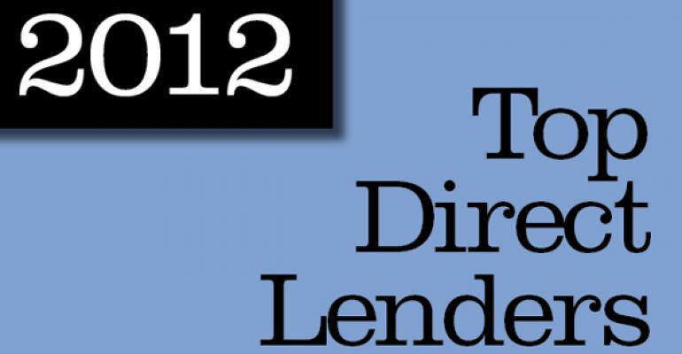 2012 Top Direct Lenders