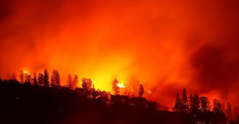 Camp Fire, Paradise, Calif.