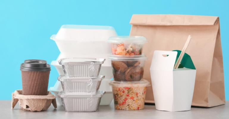 food in to go boxes