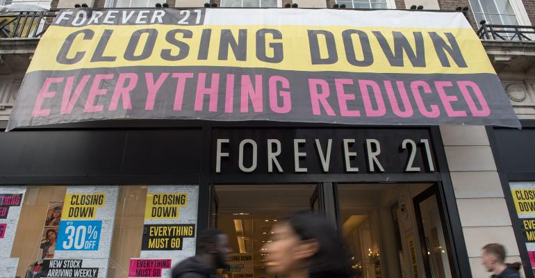Can Simon And Brookfield Save Forever 21 National Real Estate Investor
