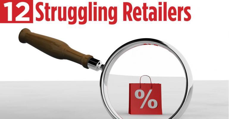 12 Struggling Retailers