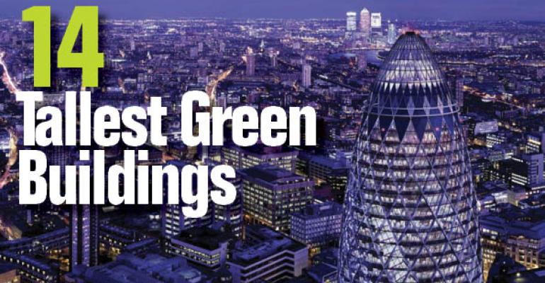 The World's 14 Tallest Green Buildings