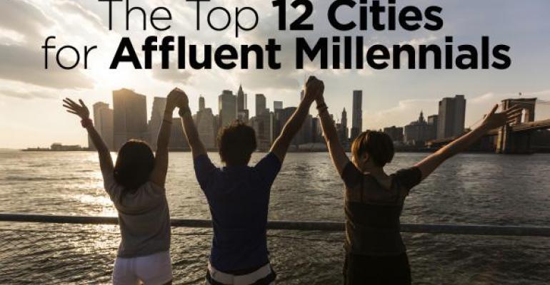 The Top 12 Cities Where Affluent Millennials Live
