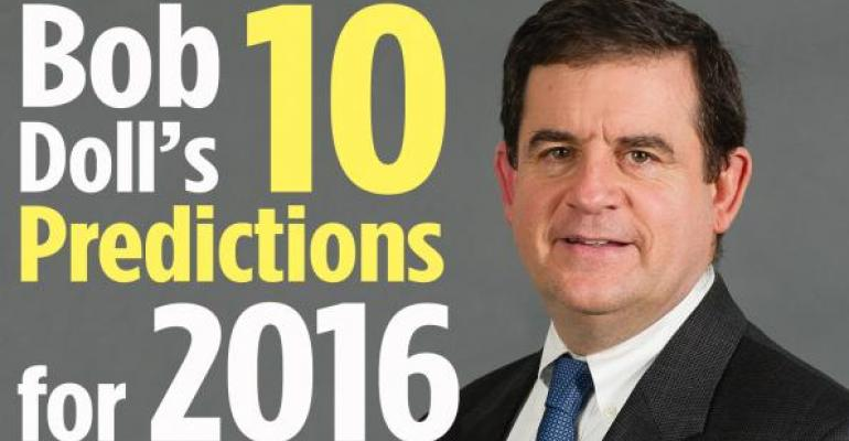 Bob Doll's 10 Investment Predictions for 2016