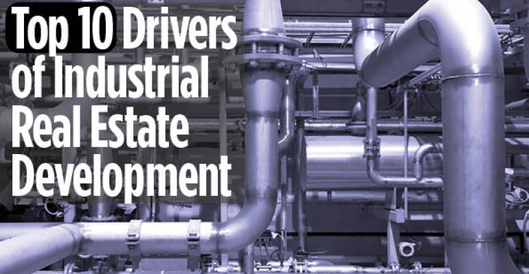 Top 10 Drivers of Industrial Real Estate Development