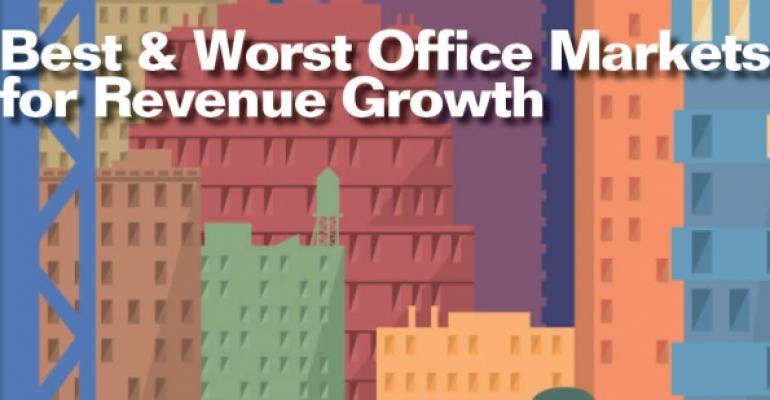 Best and Worst Office Markets for Revenue Growth