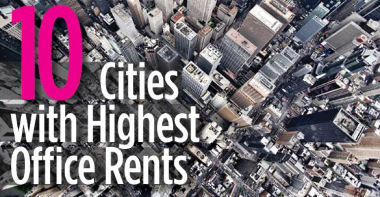10 Cities With Highest Office Rents