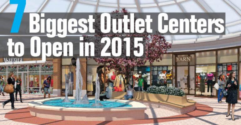 7 Biggest Outlet Centers to Open in 2015