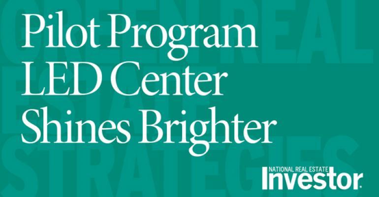 Pilot Program LED Center Shines Brighter