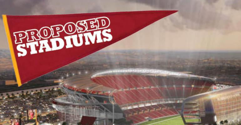 9 Proposed Sports Stadiums