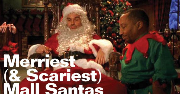 Top 10 Merriest (and Scariest) Mall Santas