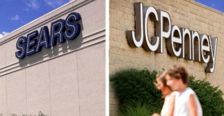 10 Malls with Largest Loan Exposures to Sears and J.C. Penney