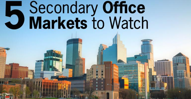 5 Secondary Office Markets to Watch