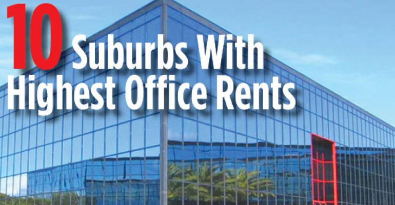 10 Suburbs With Highest Office Rents