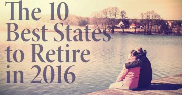 The 10 Best States to Retire in 2016