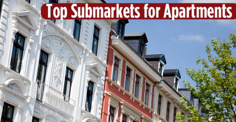 Top Five Apartment Sub-Markets in the Country