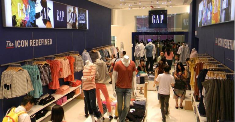 what do gap u2019s store closing announcements say about its