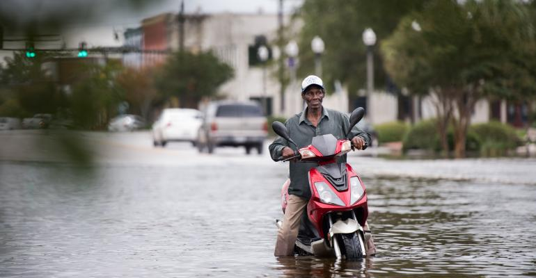 The Latest Menace for the Carolinas: Rising Flood Waters