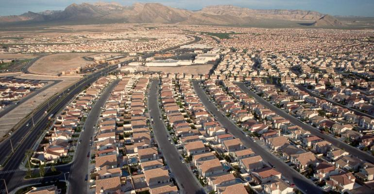 las vegas residential neighborhood