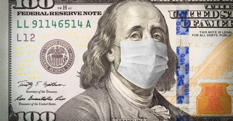 money with mask