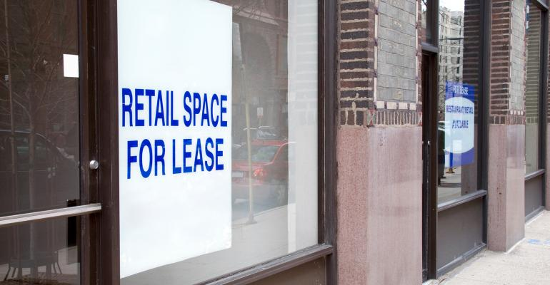 out of business retail