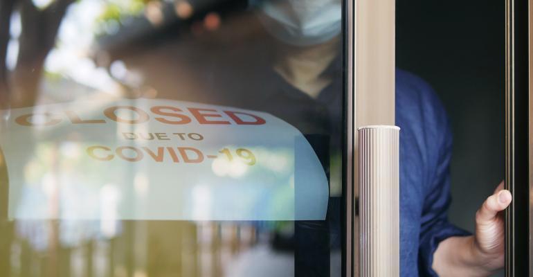 office door reopening