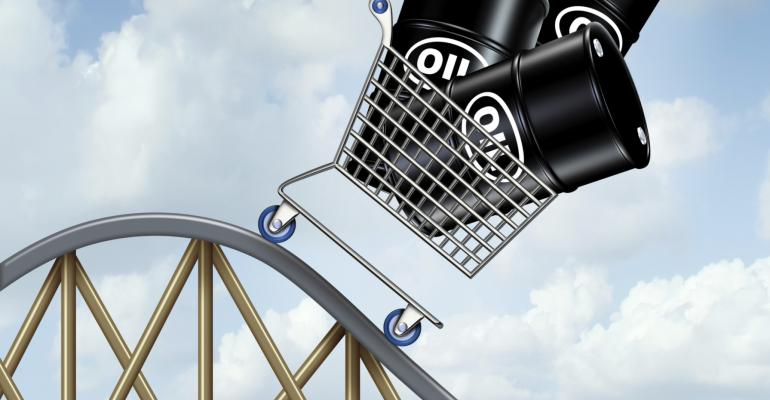 Oil Prices down rollercoaster