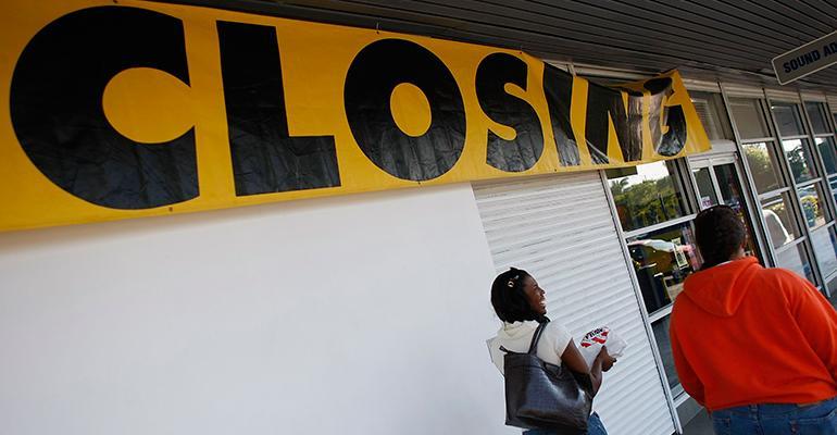 retail closings