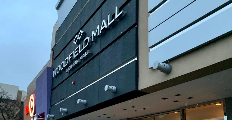 woodfield mall entrance