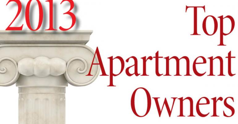 2013 Top Apartment Owners