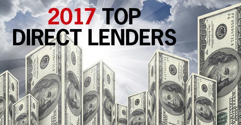 top direct lenders 2017