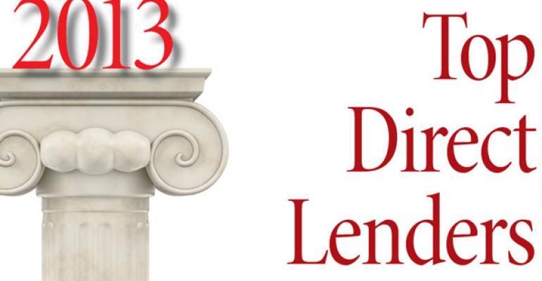 2013 Top Direct Lenders