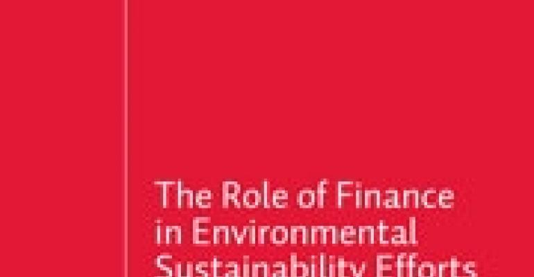 Report: CFOs See Green in Green Practices