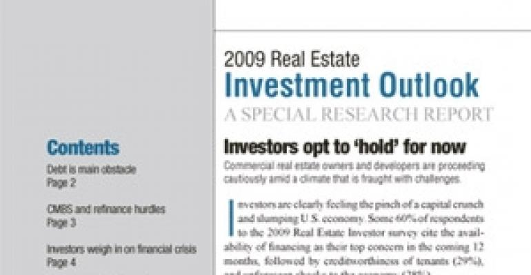 2009 Real Estate Investment Outlook