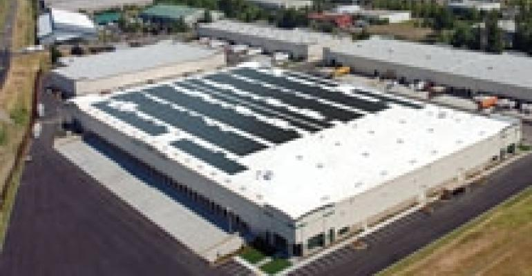 ProLogis Signs Second U.S. Roof Lease for Solar Power