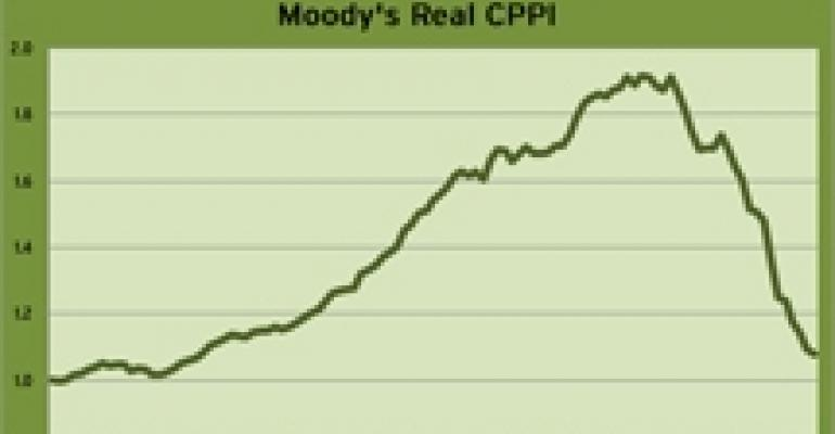 Moody's CRE Price Index Continues to Decline