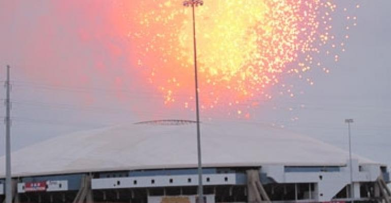 Texas Stadium Ends with a Bang, But the Site's Future Remains a Mystery