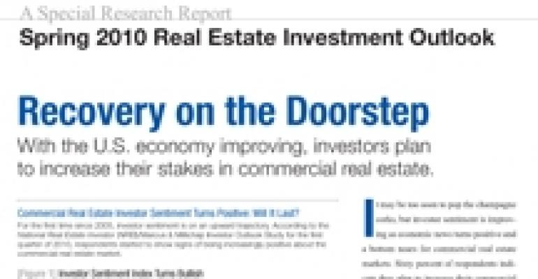 Spring 2010 Real Estate Investment Outlook