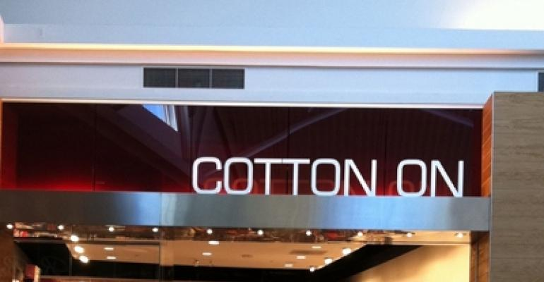 Point of Entry:  Cotton On