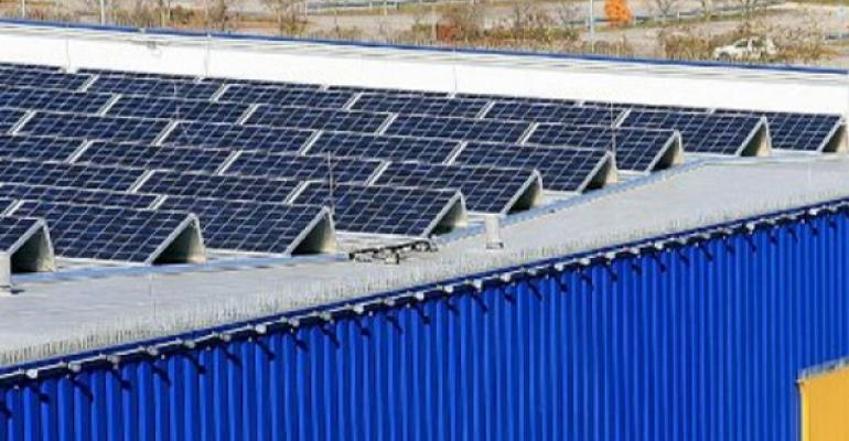 IKEA Expects Long-Term Savings from Rooftop Solar Rollout