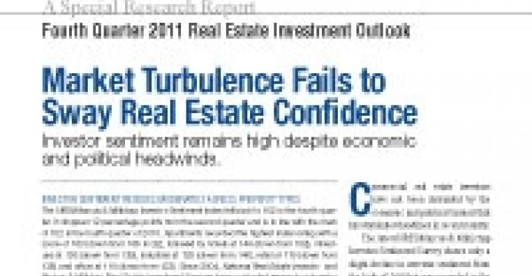 Fourth Quarter 2011 Real Estate Investment Outlook