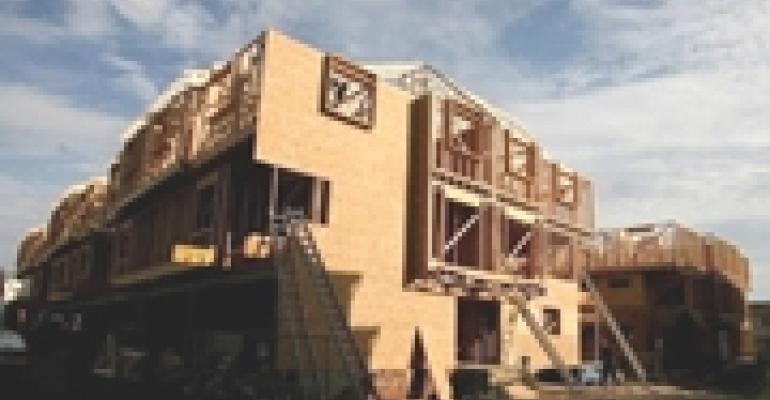 No Danger of Overbuilding in Multifamily Sector Until 2013