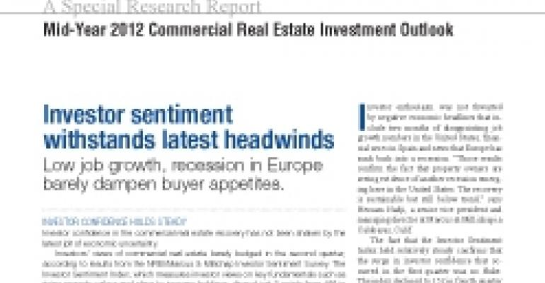 Mid-Year 2012 Commercial Real Estate Investment Outlook
